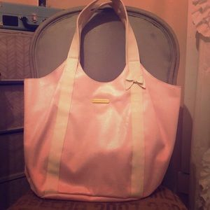 Light pink Juicy Couture tote bag